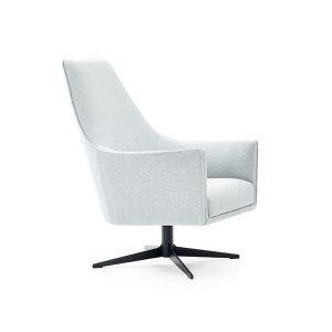 Ell korkeaselkäinen tuoli